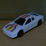 CORGI JUNIORS Ferrari Teatarossa WHITE  90's diecast model gc @SOLD@